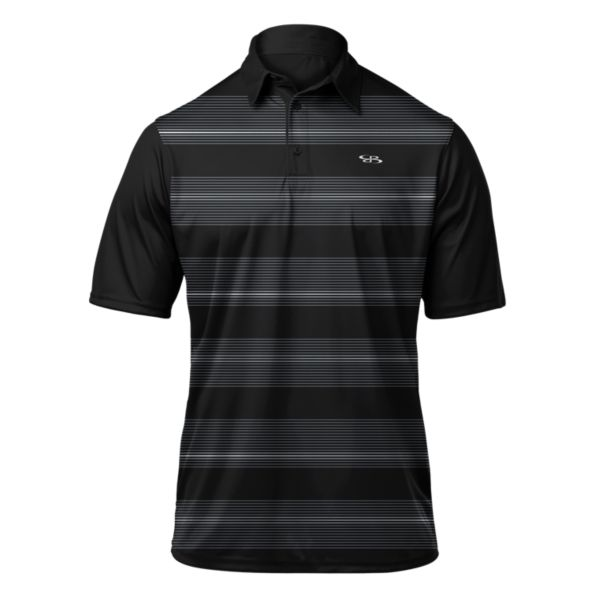 Men's Lithium Premier Polo Black/Gray