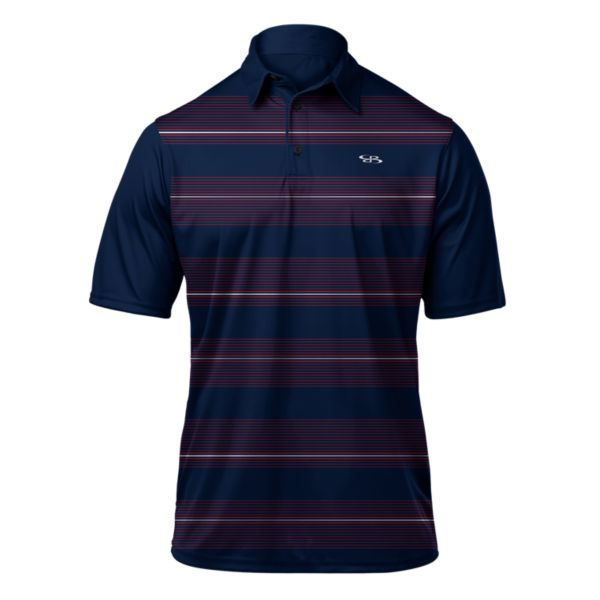 Men's Lithium Premier Polo Navy/Red
