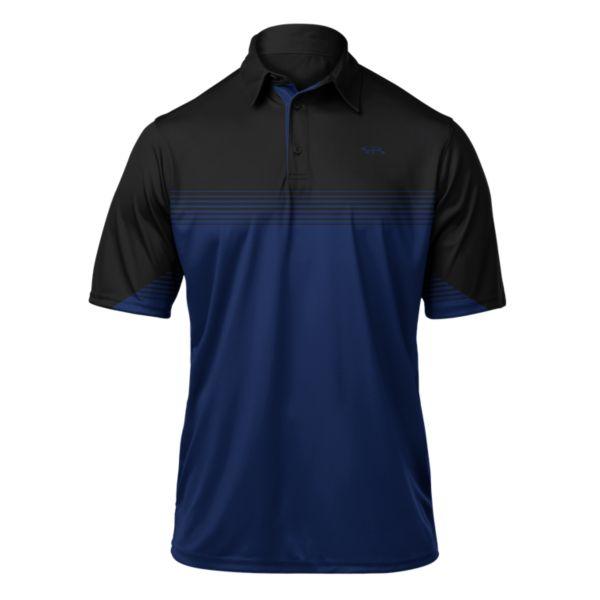 Men's Pulse Premier Polo Black/Royal