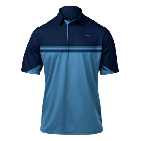 Men's Pulse Premier Polo Navy/Columbia