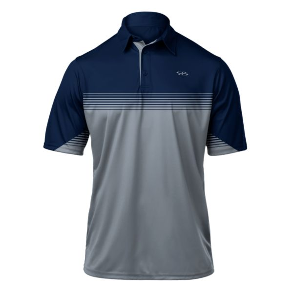 Men's Pulse Premier Polo Navy/Gray