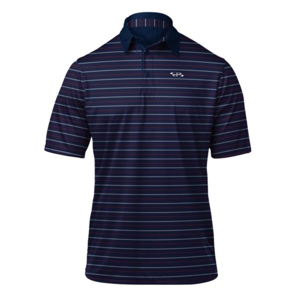 Men's USA Independent Polo Navy/Red/White