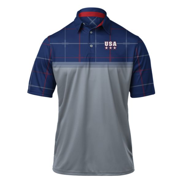 Men's USA Ringer Polo