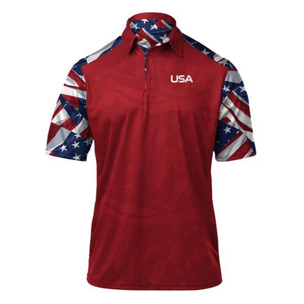 Men's USA Banner Polo