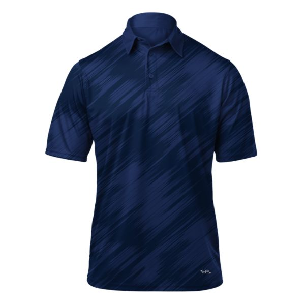 Men's Frenzy Polo Navy/Royal Blue