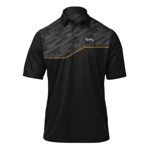 Men's Audible Polo Black/Gold