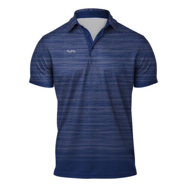 Men's Gamer Semi-Fitted Polo Royal Blue