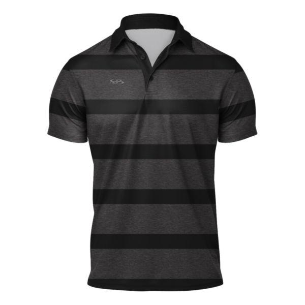 Men's Origin Semi-Fitted Polo Black