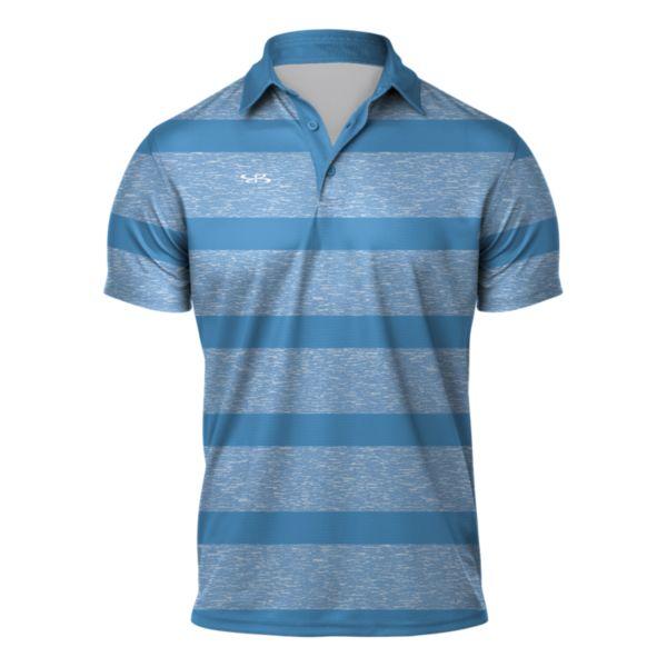 Men's Origin Semi-Fitted Polo Columbia Blue