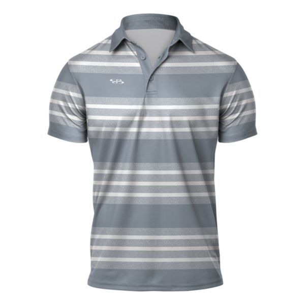 Men's Weekender Semi-Fitted Polo Gray/White