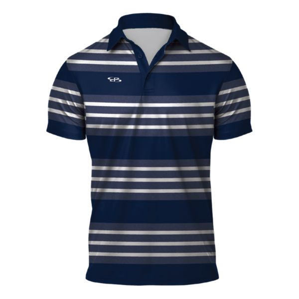 Men's Weekender Semi-Fitted Polo Navy/White