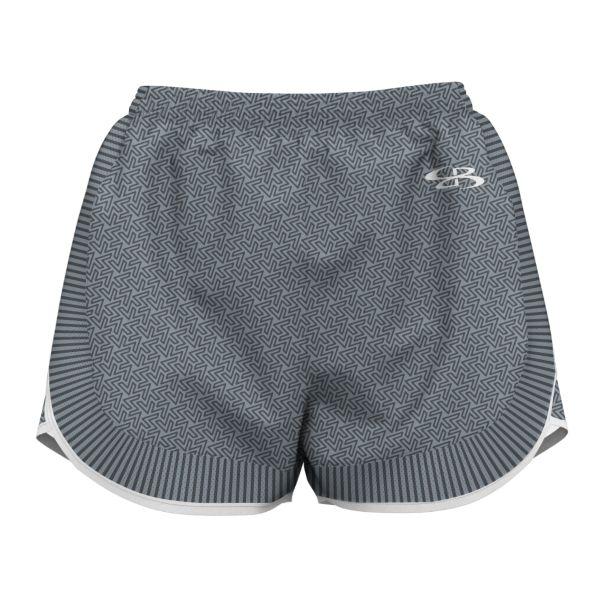 Girl's Striker Short Gray/Charcoal/White