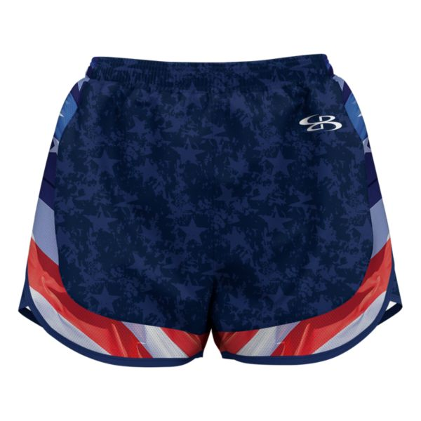Women's USA Glory Aspire Shorts Navy/Red/White