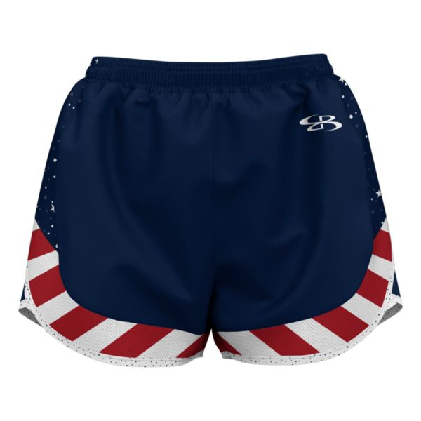 Women's USA Tribute Aspire Shorts Navy/Red/White