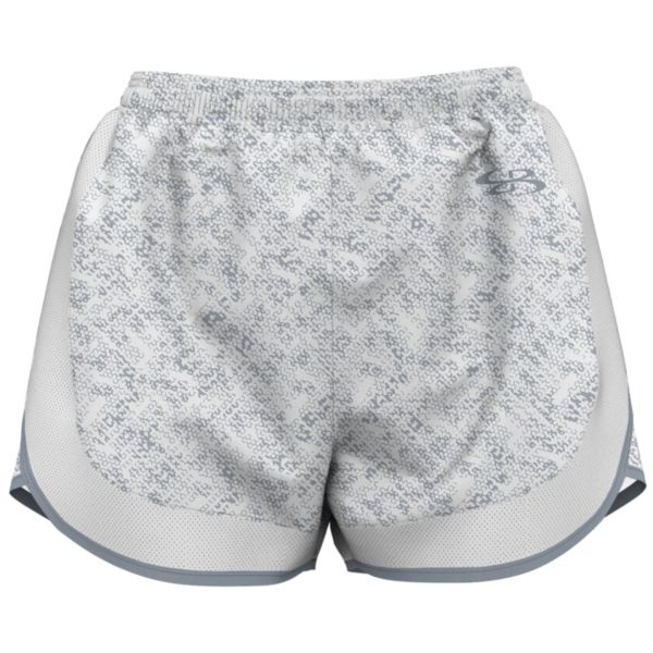 Women's Slice Aspire Shorts White/Gray