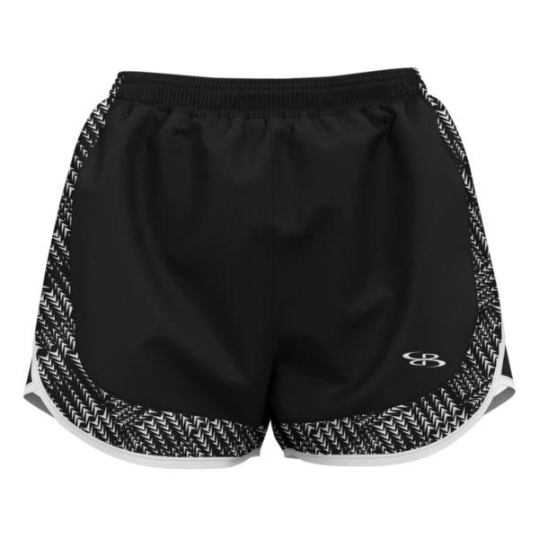 Women's Dash Aspire Short Black/White