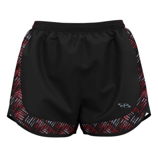 Women's Tread Aspire Short Black/Red/Gray