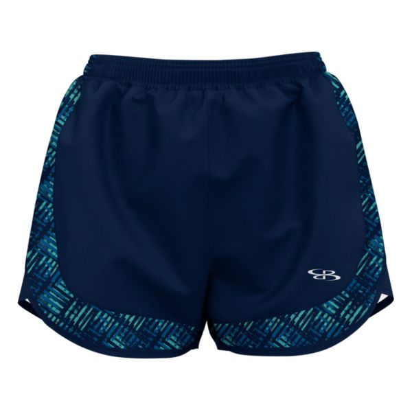 Women's Tread Aspire Short Navy/Azure/Turquoise