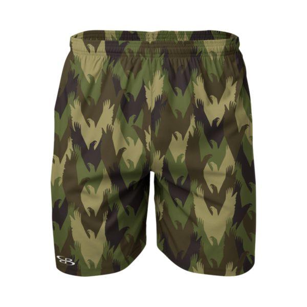 Men's Defy Reflex Woven USA Eagle Camo Training Shorts