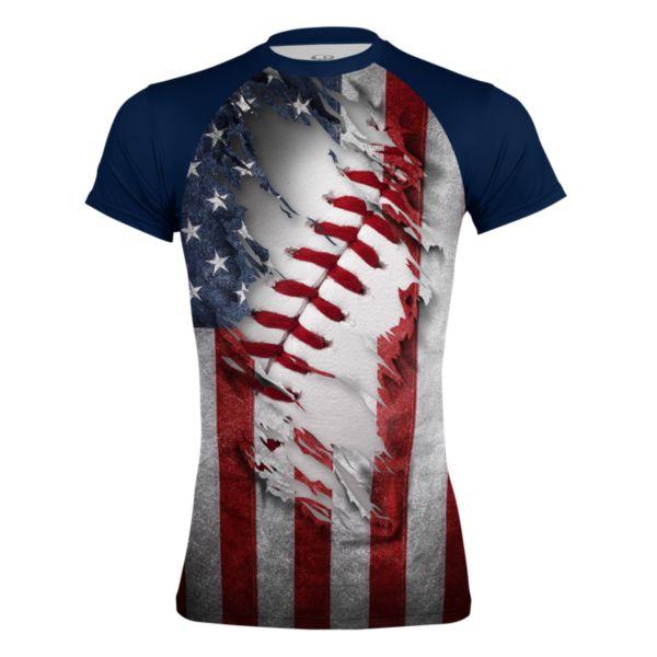 Men's USA True Compression Shirt
