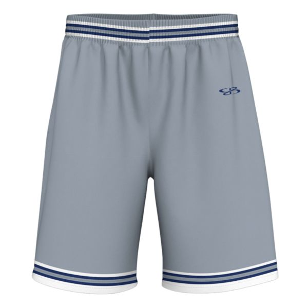 Men's Hooper Sport Mesh Short Gray/Royal Blue/White