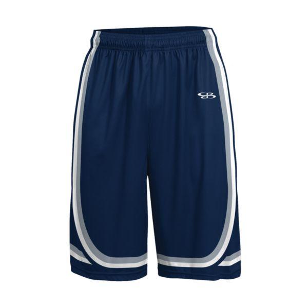 Men's Advance Knit Limit Shorts Navy/Gray/White