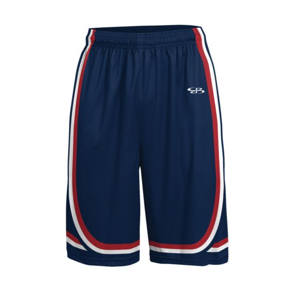 Men's Advance Knit Limit Shorts Navy/Red/White