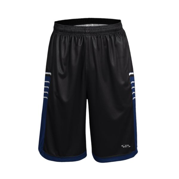 Men's Advance Knit Brink Shorts Black/Royal/White