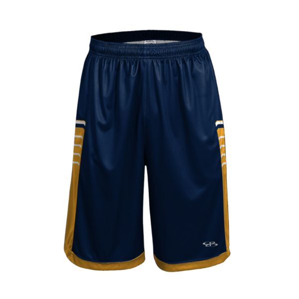 Men's Advance Knit Brink Shorts Navy/Gold/White
