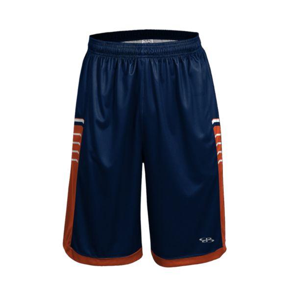 Men's Advance Knit Brink Shorts Navy/Orange/White