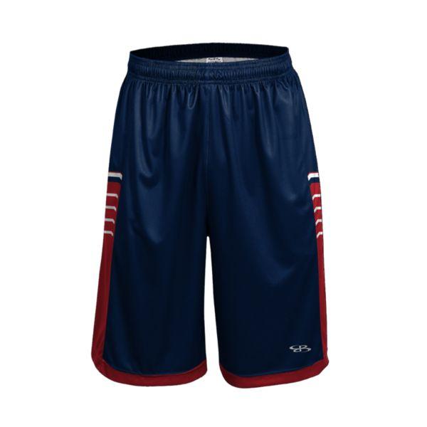 Men's Advance Knit Brink Shorts Navy/Red/White