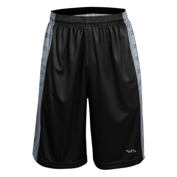 Men's Advance Knit Fleet Shorts Black/Gray/White