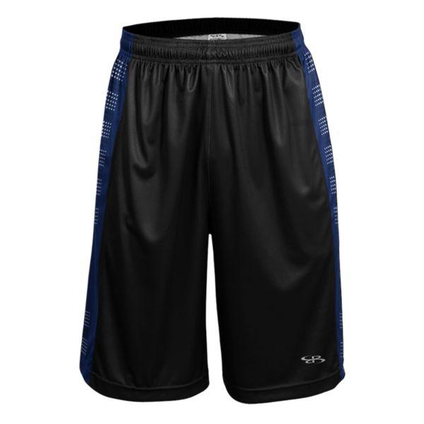 Men's Advance Knit Fleet Shorts Black/Royal/White