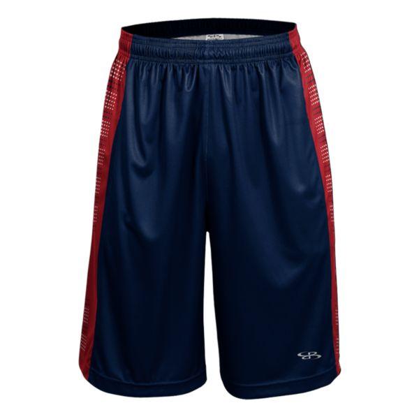 Men's Advance Knit Fleet Shorts Navy/Red/White
