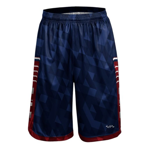 Men's USA Pulse Advance Knit Shorts Royal/Red/White