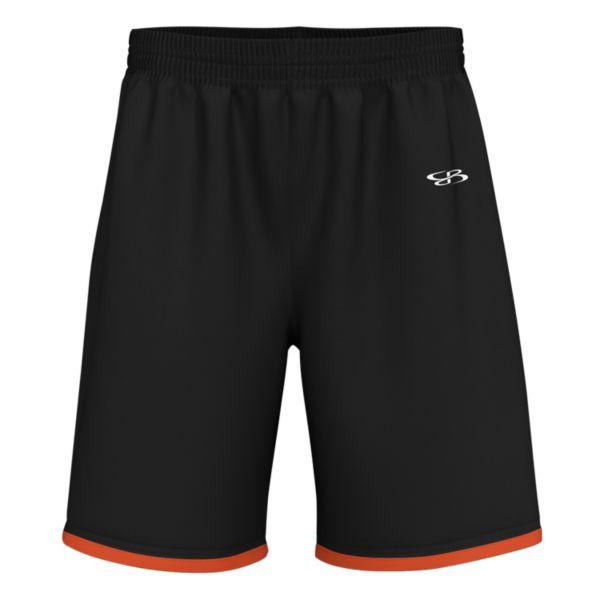Men's Charge Advance Knit Short Black/Orange/White