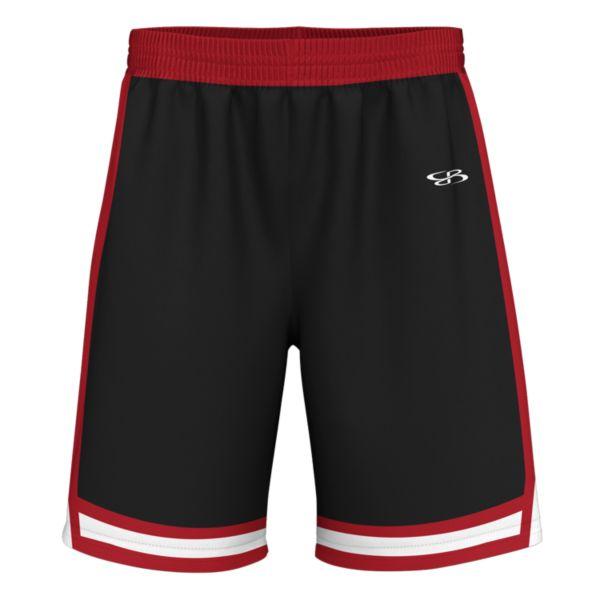 Men's Score Advance Knit Short Black/Red/White