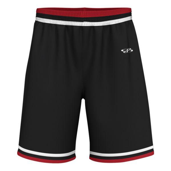 Men's Select Advance Knit Short Black/Red/White