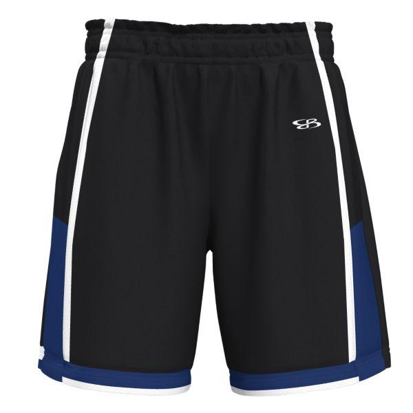 Men's Shooter Advance Knit Short Black/Royal Blue/White