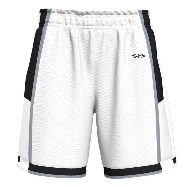 Men's Bank Advance Knit Short White/Black/Gray