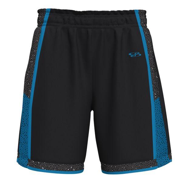 Men's Defender Advance Knit Short Black/Cyan
