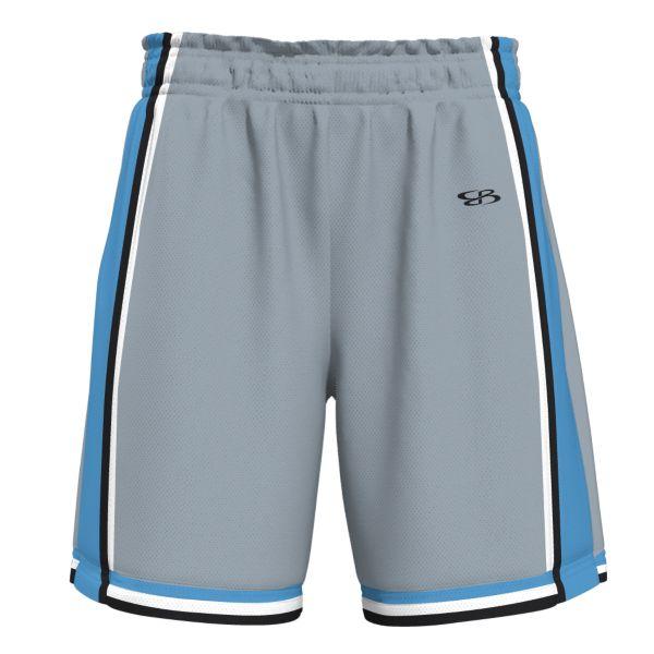 Men's Replay Advance Knit Short Gray/Columbia Blue