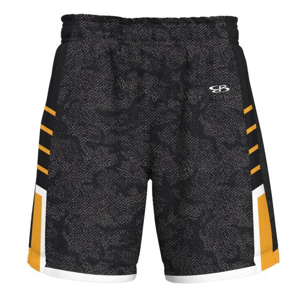 Men's Offense Advance Knit Short Black/Gold