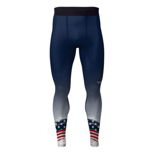 Men's USA Liberty Tight Navy/Red/White