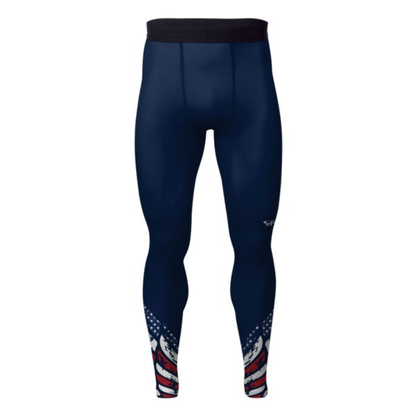 Men's USA Pride Tight Navy/Red/White
