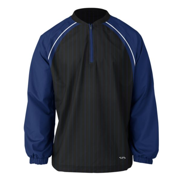Men's Highlight Quarter Zip Royal/Black