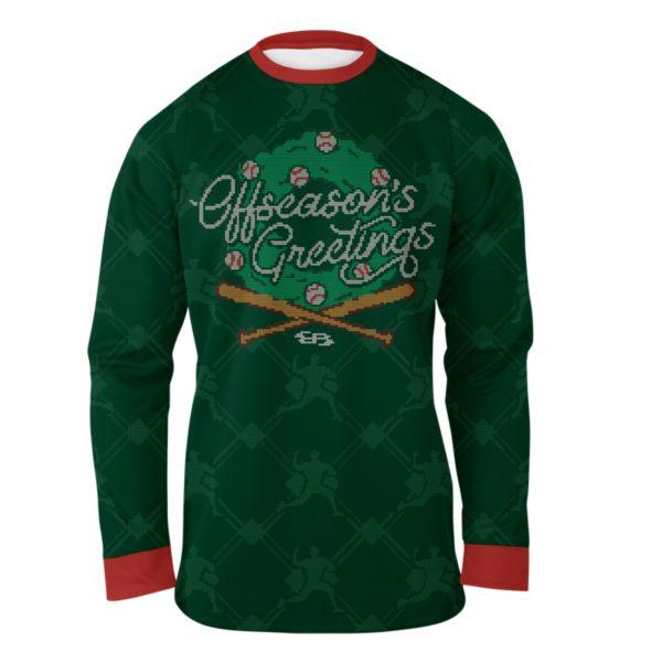 Men's Tis the Offseason Ugly Christmas Fleece Pullover