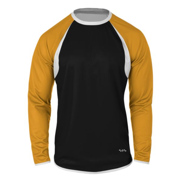 Men's Verge Pitch Crew Black/Gold/White