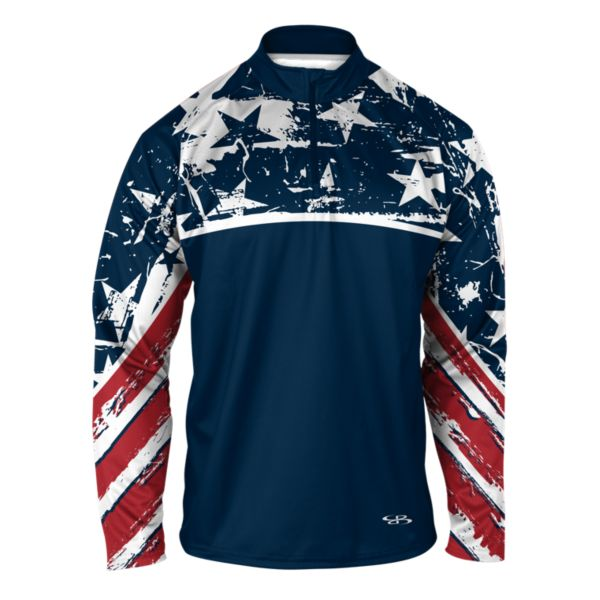 Men's USA Sabre Quarter Zip Pullover