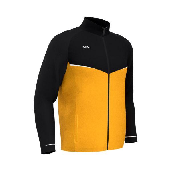 Men's Contender Jacket Black/Gold/White